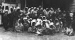 Verkrachte Cham vrouwen  in concentratiekampen
