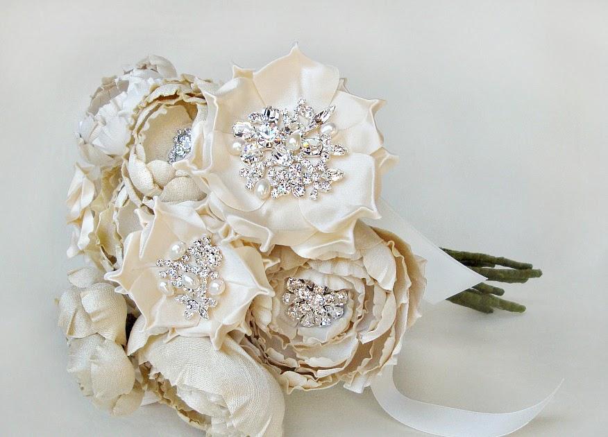 Silk Wedding Bouquets Perth Wa : The bride s diary? stunning silk flowers by emici bridal