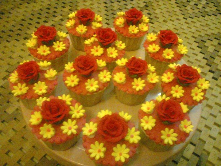 Zeinap resepi cup cake fondant