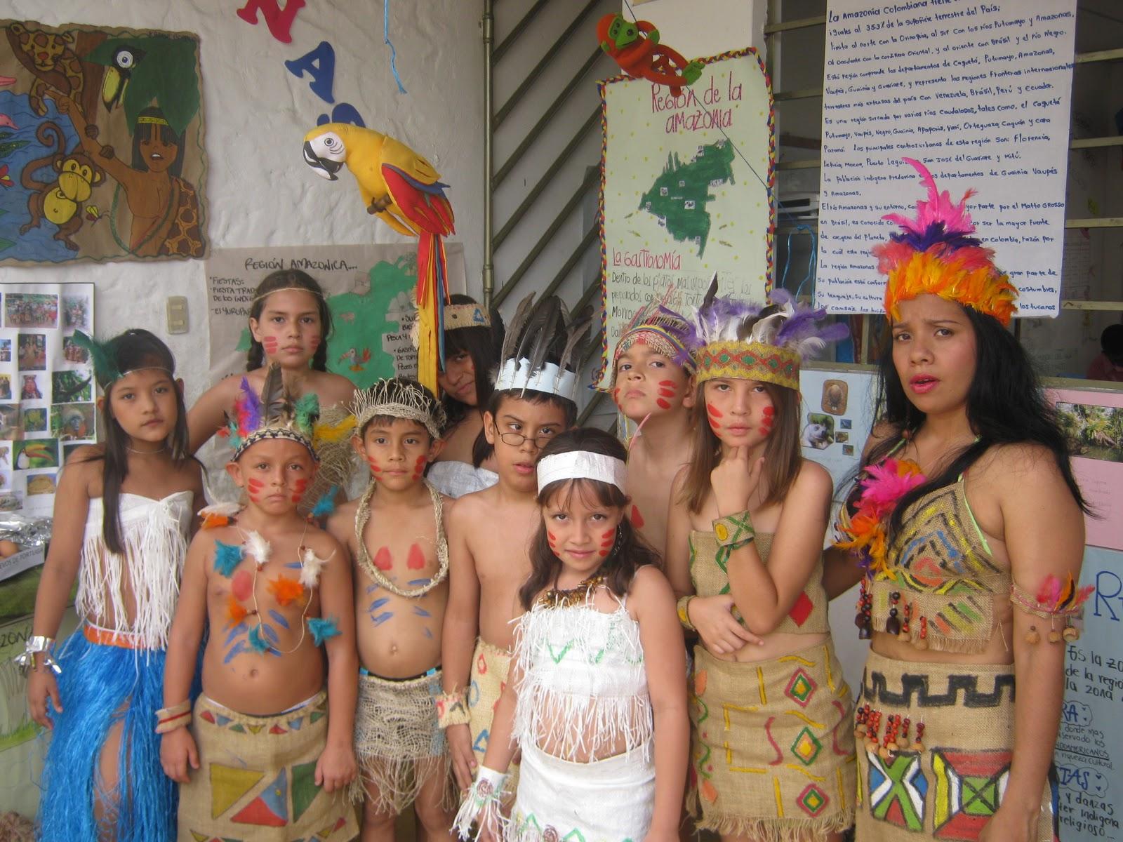 Indigenas De Las Amazonas