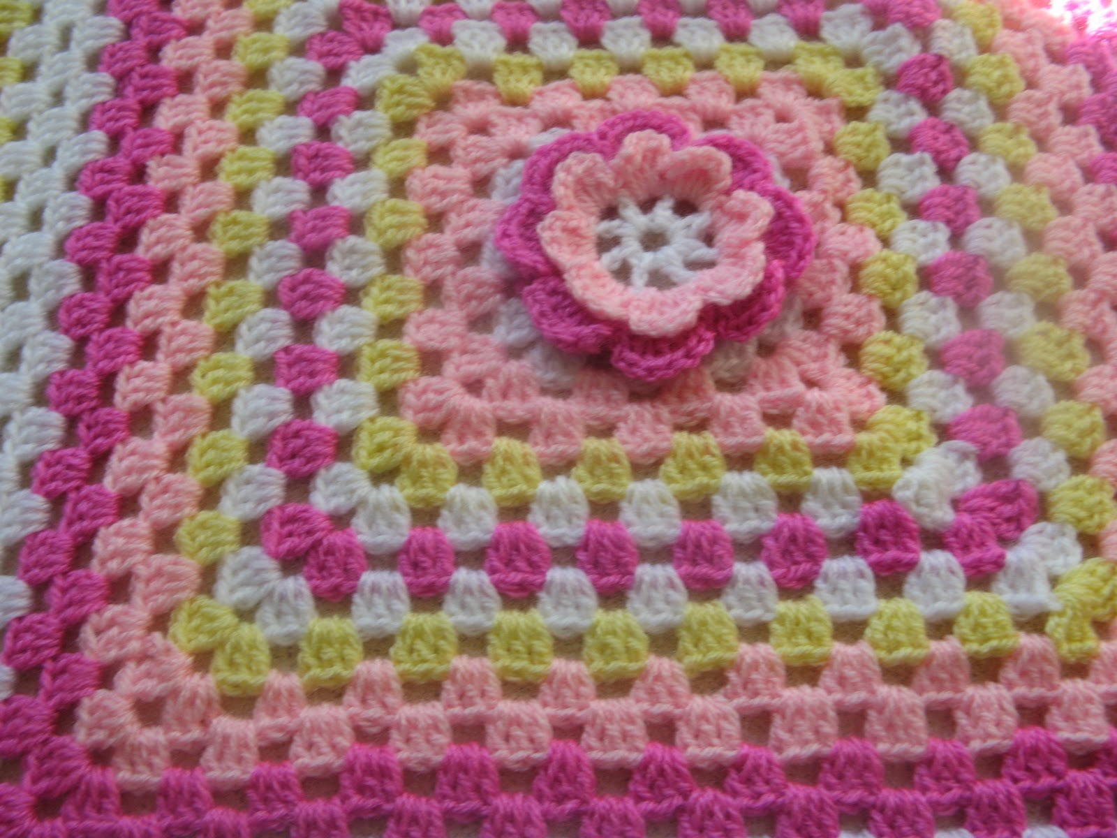 Helen S Colourful Crochet Blankets A Pretty Hand Crochet Dolls Blanket