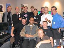 Frank Zamacona (in blue shirt) & First  SFopera crew-2007