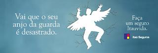 2068 Anjo da guarda para Itaú Seguros | DM9DDB