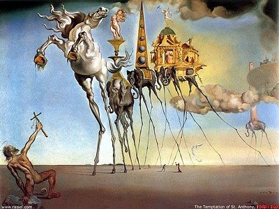 Eugenio Salvador Dalí 3Salvador-Dali-The-Temptation-Of-Saint-Anthony