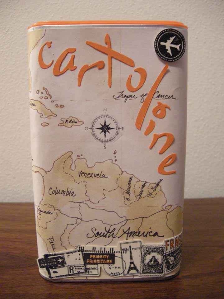 Scrapperita scatola porta cartoline per ios - Porta cartoline ...