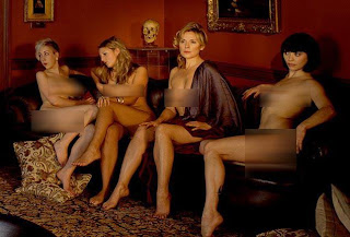 Kim Cattrall Is Naked For The Sake Of Art