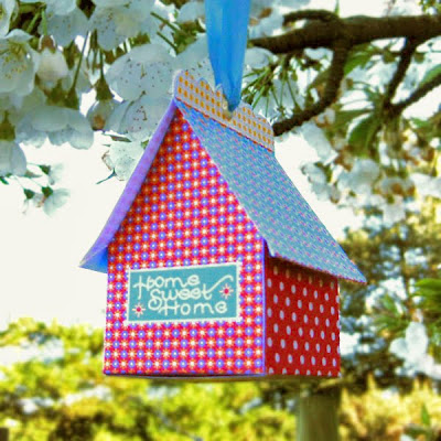 little paper houses for gifts