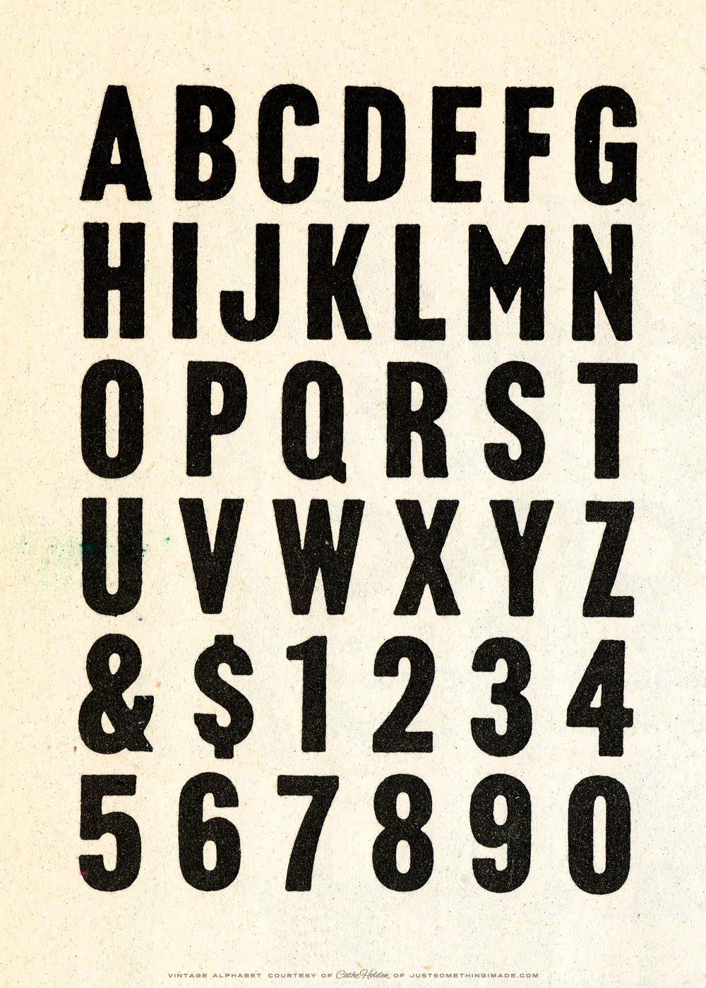 Free JSIM Vintage Alphabet Images Cathe Holdens