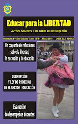 Revista de investigación educativa dirigida por la Prof. Evelina Chipana Torres
