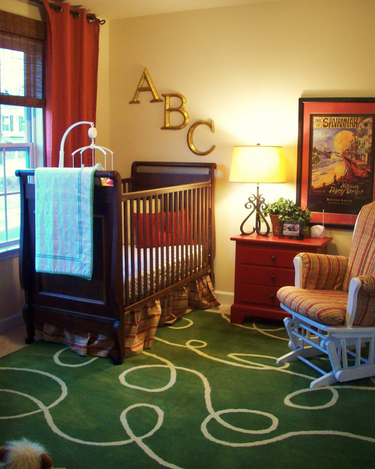 Cute room for baby for Baby room decor ideas unisex