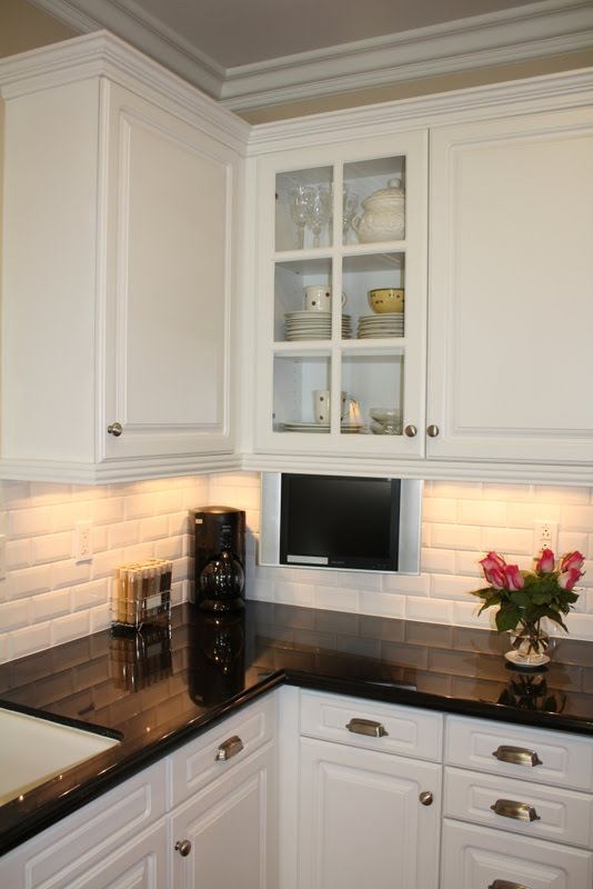 brick style backsplash, brick paver backsplash, brick pattern backsplash, on kitchen makeover ideas with brick