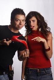 """Andrés y Laura Chimaras Protagonista de la telenovela """"Libres como el Viento de RCTV"""""""