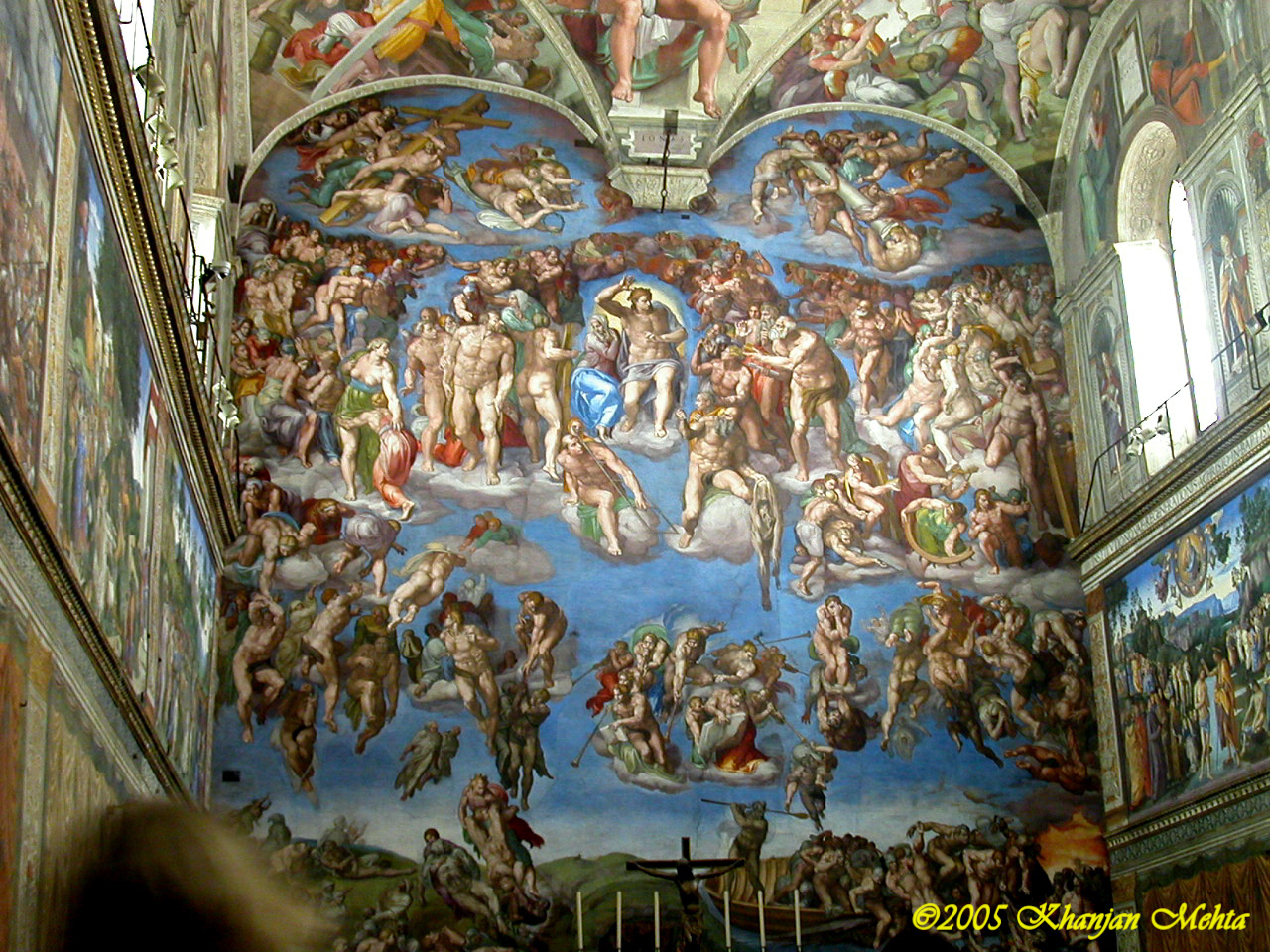 last judgment Last judgment: last judgment, a general, or sometimes individual, judging of the thoughts, words, and deeds of persons by god, the gods, or by the laws of cause and effect.