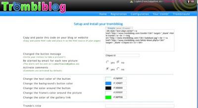 gadget fotos webcam visitantes blogger