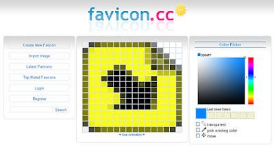 crear favicon