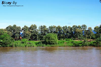 haad chiangrai or Kok river