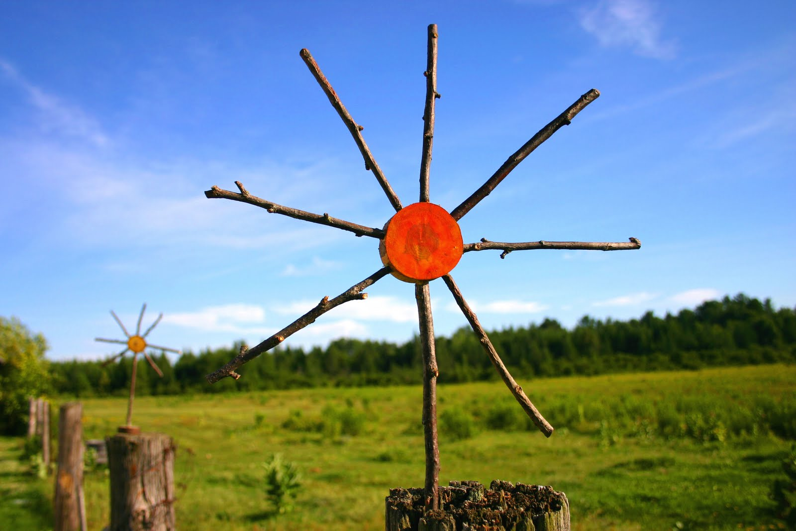 Wooden Sun Craft - Part 2