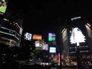 Shibuya por la noche