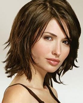 medium hair cut styles are quite versatile as seen by the photos below