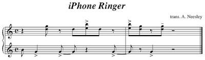 tono del iPhone