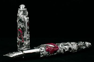 La pluma más cara del mundo