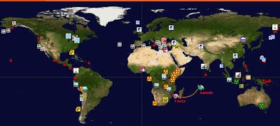 desastres del mundo en tiempo real