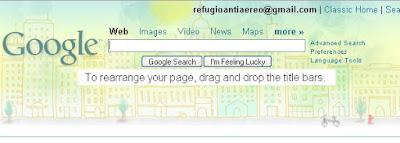Themes para la página de inicio Google personalizada
