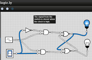 logic.ly simulador electrónica digital
