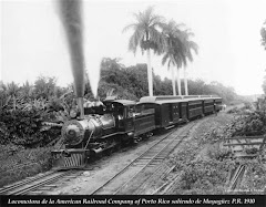 Locomotora American Railroad Company of Porto Rico 1910, Coleccion Ricardo R. Medina