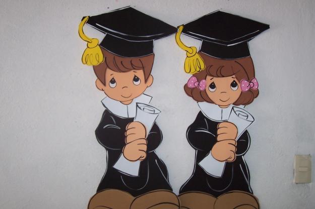 Centros de mesa para graduación de preescolar - Imagui