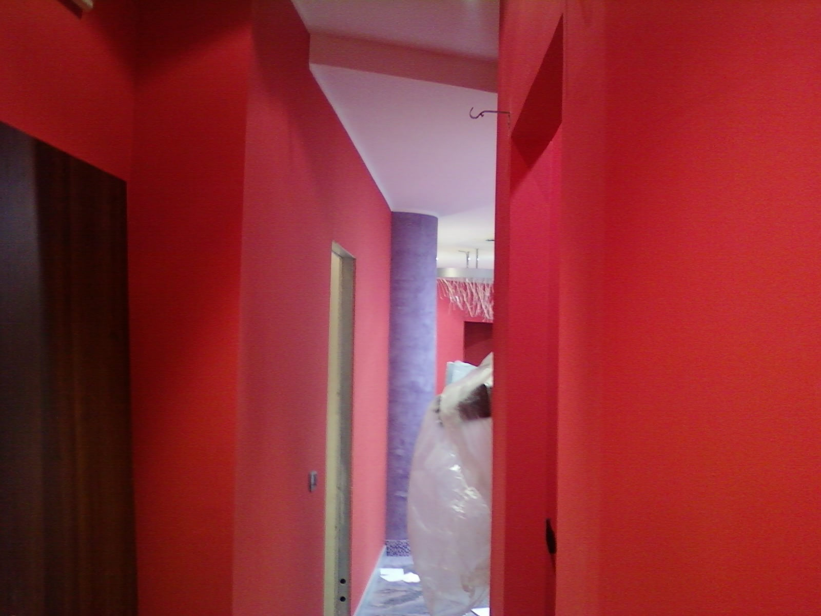 Pareti Colorate Bronzo : Parete cartongesso salone forum arredamento tv