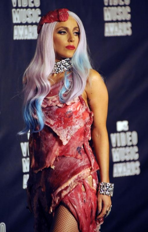 lady gaga meat dress shoes. photos, video, tour outfits for beauty news Lady+gaga+meat+dress+shoes
