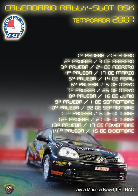 cartel rally BSK 2007