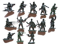 Toy army men.