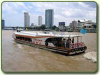 Take the bangkok river cruise from Saphan Taksin to Grand Palace