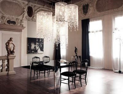 Places of Decor: Dining room Desing - Modern Gothic Concept