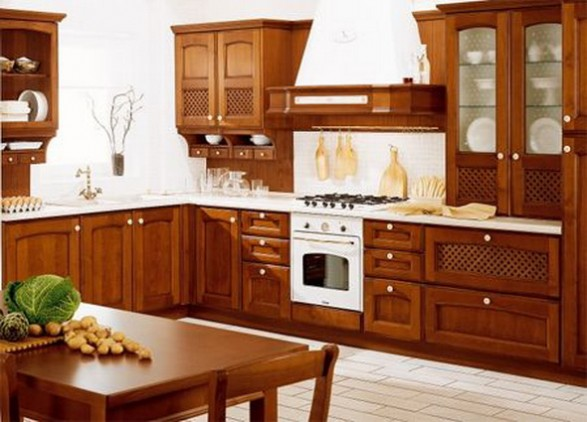 Places of Decor: Kitchen Villa d\'Este by Veneta Cucine