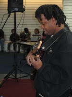 Victor Wooten At Chuck Levin's