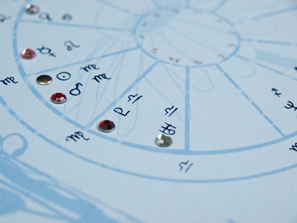 My Life Stars Astrology Blue Daisy Wheel Astrology Chart Design