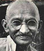 [Mahatma Gandhi]