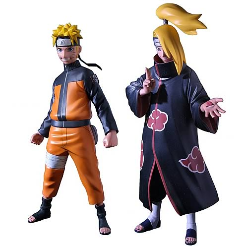 Based off the popular series Naruto: Shippuden, these detailed 6-inch tall