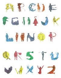 Cada letra está relacionada con una obra de la literatura universal.