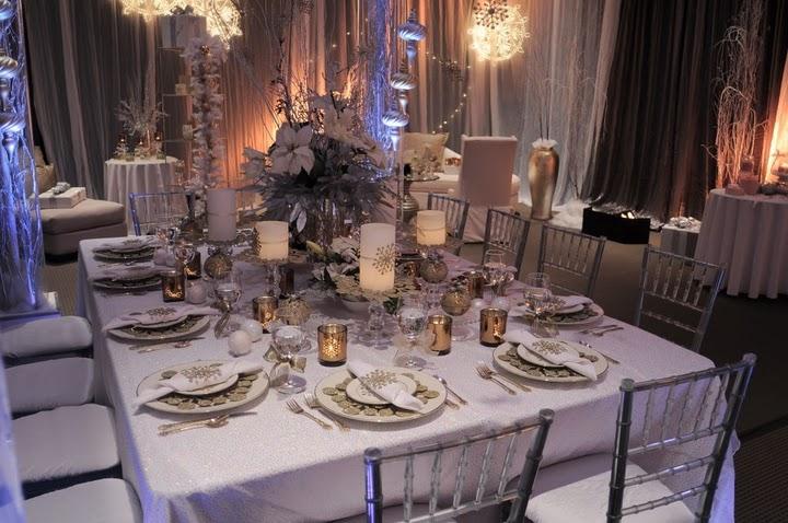 Decorating Idea Elegant Holiday Table