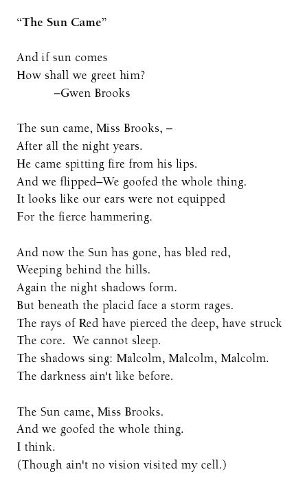 storm on the island poem