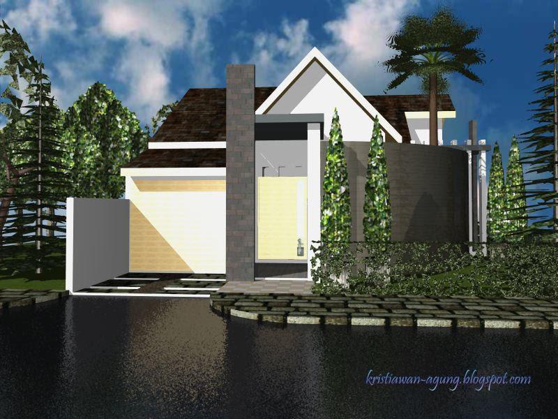 desain rumah idaman rumah idaman 1 model mi 104 180 ak