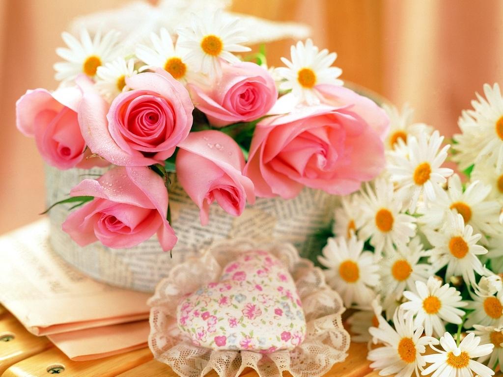 Pink Rose Valentines Day Ecards