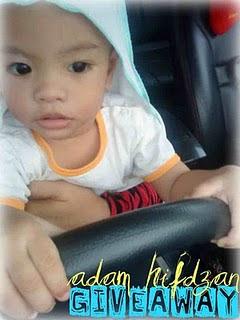 """ADAM HIFDZAN 1st BESDAY GIVEAWAY (10/10/2010)"