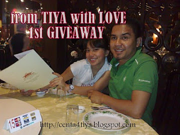 FROM TIYA WITH LOVE 1ST GIVEAWAY