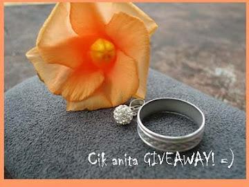 Cik Anita Songeh Giveaway (30.10.10)