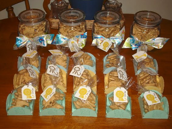 Faerie Dreams and Paper Wishes: Baby Shower Favors